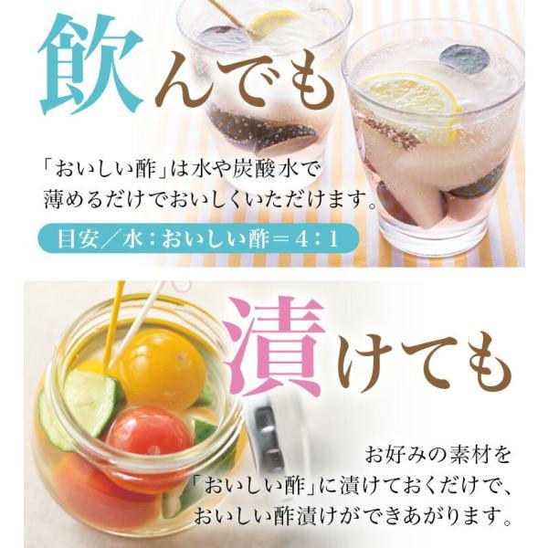 おいしい酢 900ml  10秒に1本売れる!みかん果実酢配合 まろやかな甘みで飲んでおいしい、料理にべんりで酢のもの簡単 ランキング1位のおいしいお酢|oisi|07