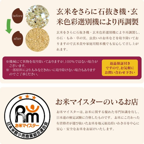 新米 お米 30Kg 福島県産 天のつぶ 送料無料 無洗米 精米 令和元年産 一等米|oisiiokomedesu|10