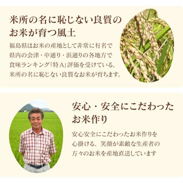 お米 20Kg 福島県産 ひとめぼれ 送料無料 無洗米 精米 令和元年産 一等米 oisiiokomedesu 06