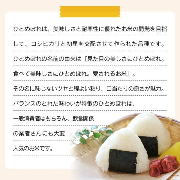 お米 20Kg 福島県産 ひとめぼれ 送料無料 無洗米 精米 令和元年産 一等米 oisiiokomedesu 08