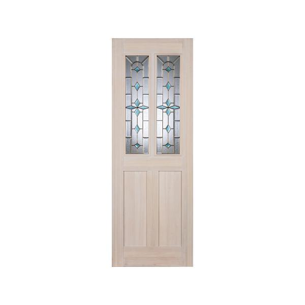 LOHAS material オリジナル無垢建具ドア デザインシリーズ DD06 パイン 無塗装|ok-depot