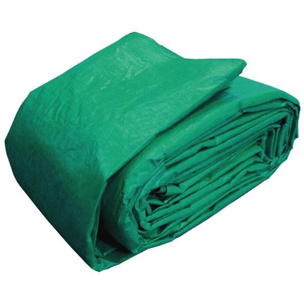 ブルーシート 防水 厚手 タープ 3000 3.6m×5.4m 緑&青 1枚 okacho-store