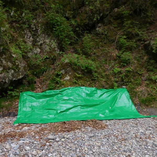 ブルーシート 防水 厚手 タープ 3000 3.6m×5.4m 緑&青 1枚 okacho-store 07