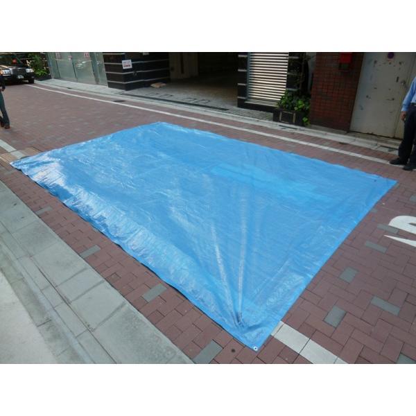 ブルーシート 規格 #1000 サイズ 3.6m×5.4m 薄手 防水 1枚|okacho-store|03