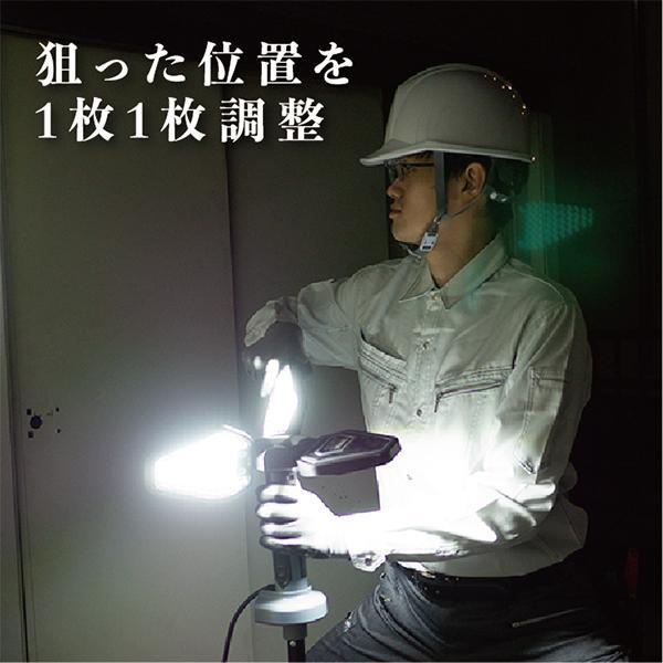 LED ライト 照明器具 投光器 ワークライト スタイリッシュ|okacho-store|04