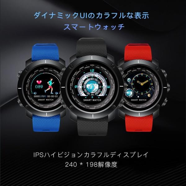 スマートブレスレット 多機能腕時計 3D UI表示 w30 メンズスマートウォッチ 心拍計 IP67防水 フィットネストラッカー スポーツ