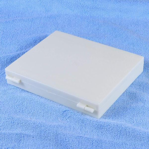 NUOLUX プレパラートボックス スライドガラス ケース プラスチック製 実験室 収納用品 100枚