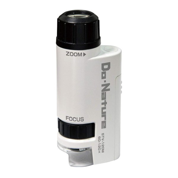 Kenko 顕微鏡 Do・Nature 60-120倍 LEDライト内蔵 コンパクト携帯型 STV-120M