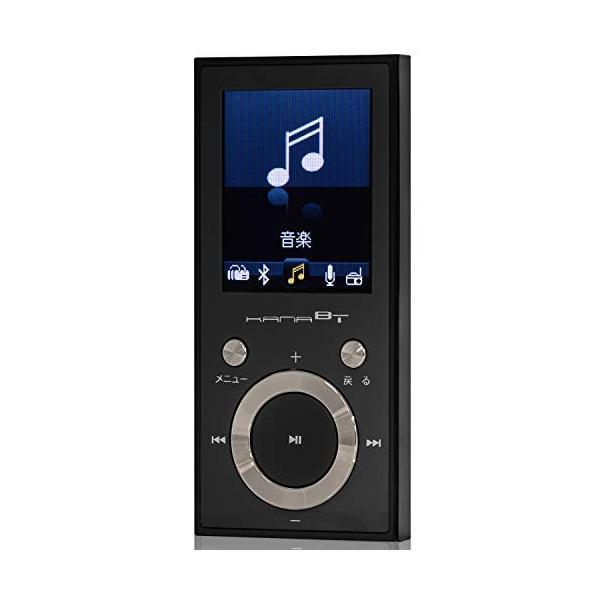 グリーンハウス KANABT Bluetooth4.1 MP3プレーヤー microSD対応 FMラジオ/ボイスレコーダー搭載 16GB内蔵
