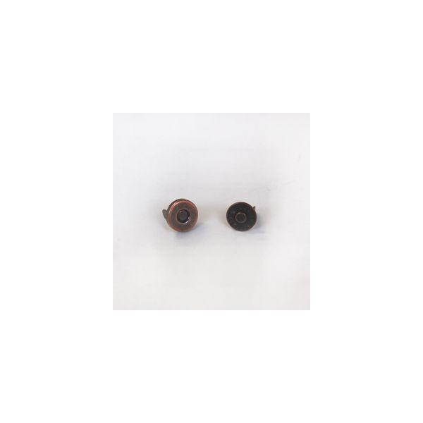 \期間限定10%OFF/  ミニマグネットボタン 差し込みタイプ(1119) 8mm B.ブロンズ (H)_6a_