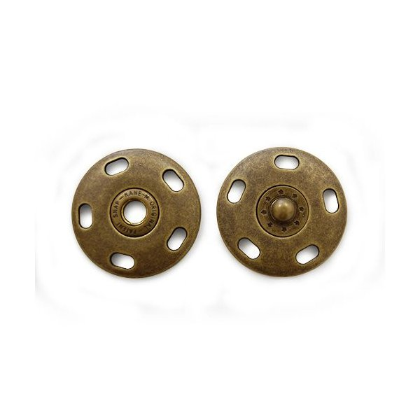 ジャンボ縫い付けスナップボタン(BAK42002) 35mm AG.アンティークゴールド (H)_6a_