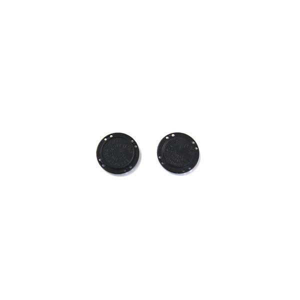 \期間限定10%OFF/  マグネットボタン 縫い付けタイプ(M-022) 22mm クロ (H)_6a_