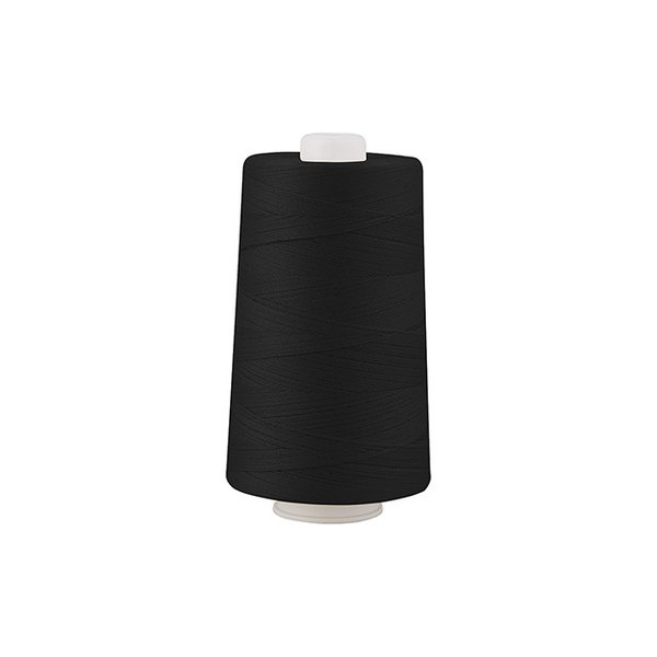 工業用ミシン糸 フジックス キングスパン 20番 2000m巻(4853) 色番402.黒 (H)_6b_