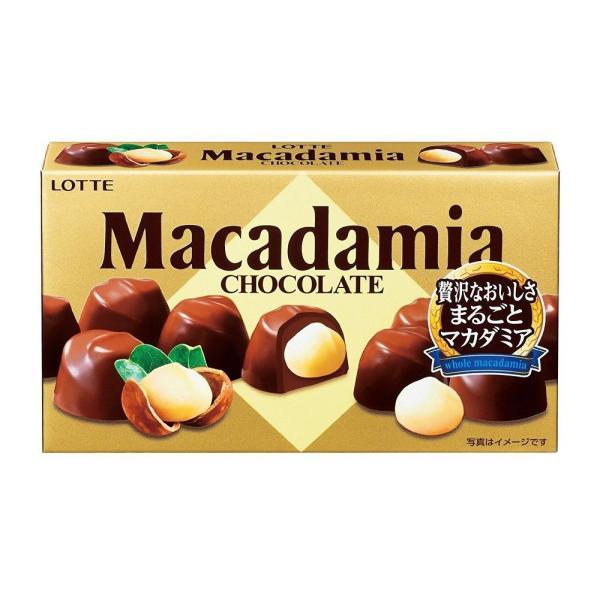 ロッテ マカダミアチョコレート 10個