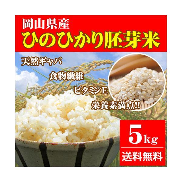 ひのひかり胚芽米5kg岡山県産(5kg×1袋)令和2年産お米