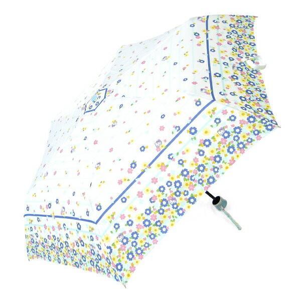 傘 レディース ハローキティ ブリリアントブーケ 55cmミニ折たたみ傘 送料無料