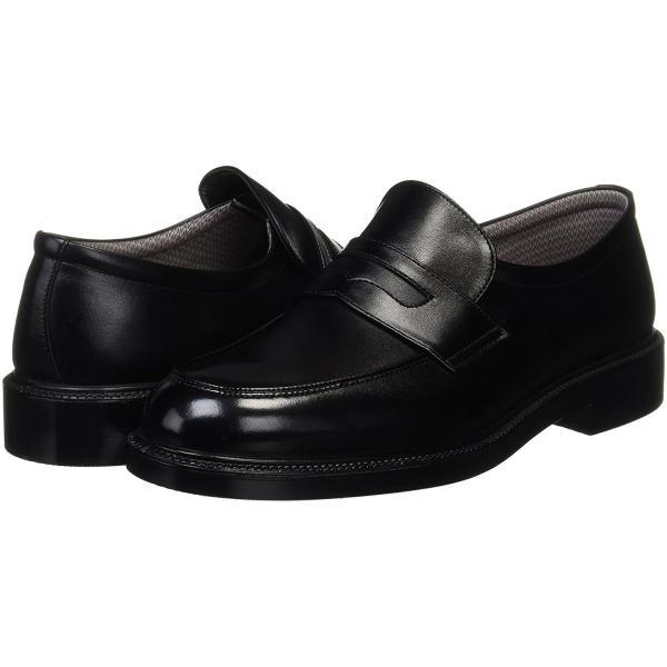 ASAHI アサヒ tk31-24 ブラック アサヒシューズ メンズ ビジネスシューズ ゴアテックス ローファー  靴 okamotoya 04