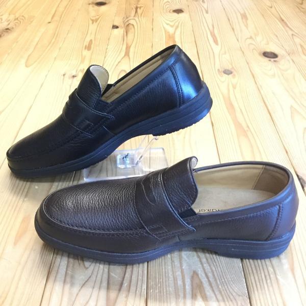 リーガル REGAL リーガルウォーカー 274w 274wbf ブラック・ダークブラウン ディアスキン採用のローファー メンズ ビジネスシューズ 靴|okamotoya|04
