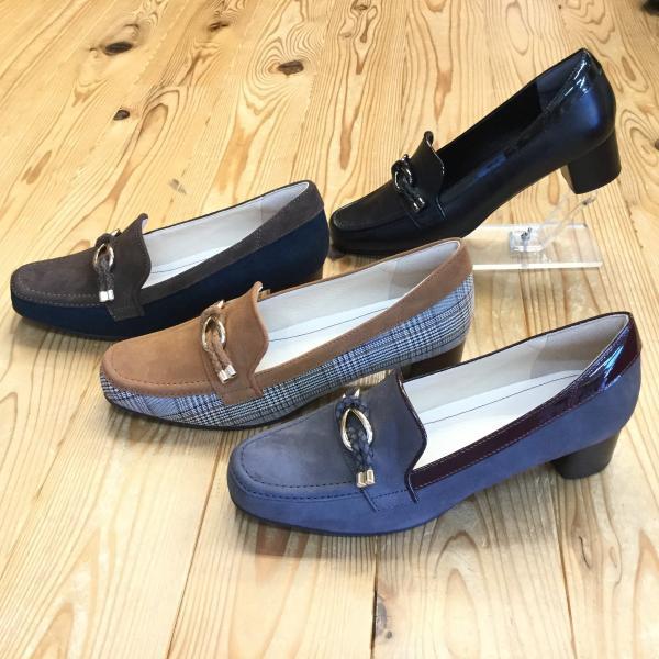 店頭展示品在庫処分 REGAL f64k リーガル レディース ヒールローファー 靴|okamotoya|02