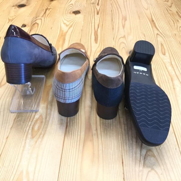 店頭展示品在庫処分 REGAL f64k リーガル レディース ヒールローファー 靴|okamotoya|03