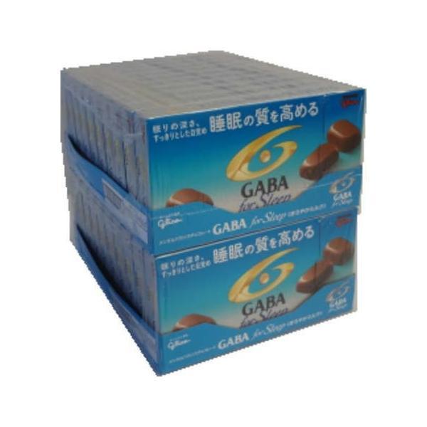 江崎グリコ GABA ギャバ フォースリープまろやかミルクチョコレート 50g×20個|okashi-com