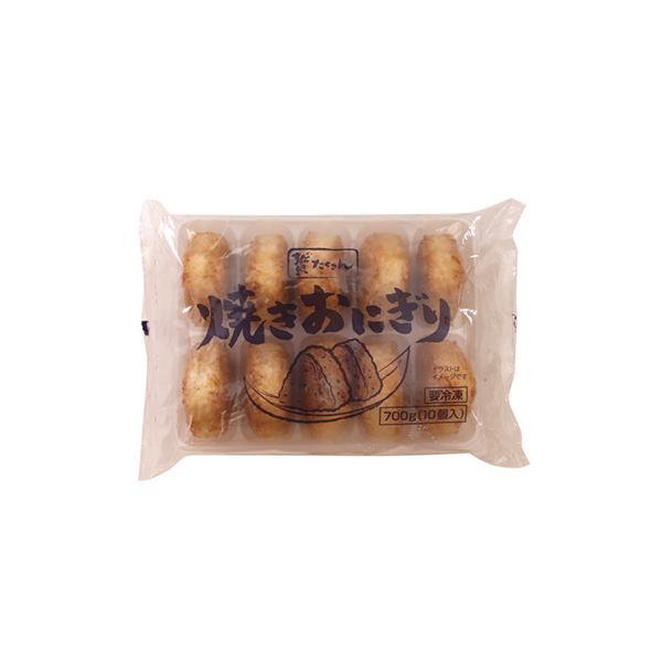 (地域限定送料無料) 業務用 贅たくさん 焼きおにぎり 700g(10個入り)(冷凍)×2 (295200000sx2k)