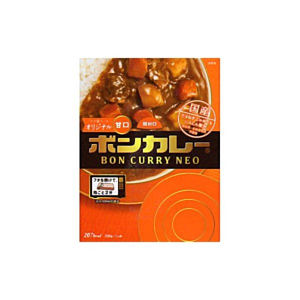 大塚食品 ボンカレーネオ コク深ソースオリジナル 甘口 230g 5コ入り|okashinomarch