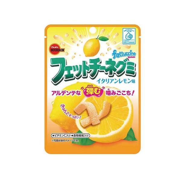 ブルボン フェットチーネグミ イタリアンレモン味 50g 10コ入り 2021/10/05発売 (4901360344796)