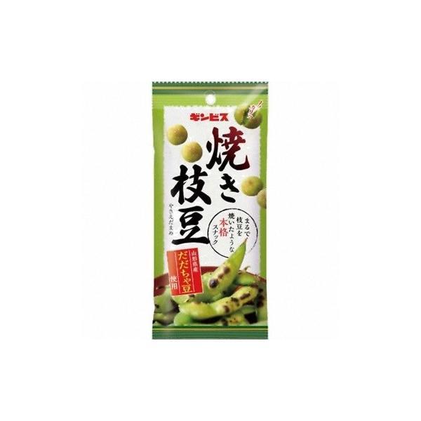 ギンビス 焼き枝豆 だだちゃ豆使用 38g 80コ入り 2017/09/11発売 (4901588106602c)
