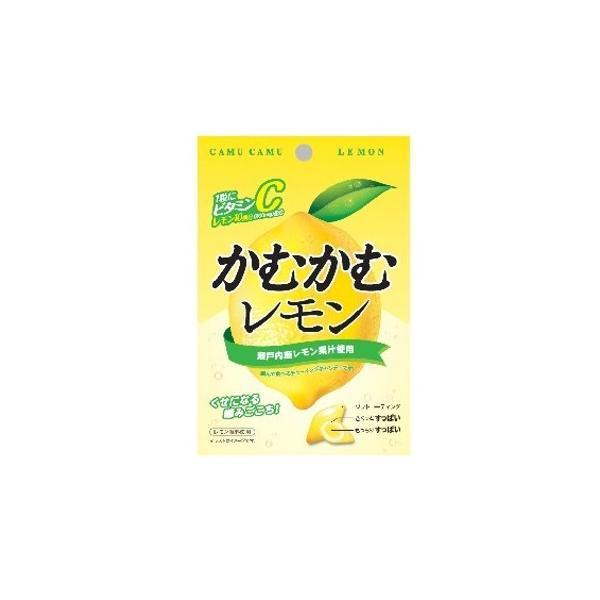 (全国送料無料)三菱食品 かむかむ レモン 30g 10コ入り メール便 (4901625421781m)