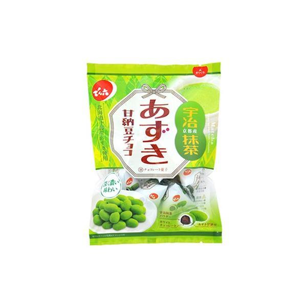 でん六 あずき甘納豆チョコ 抹茶 66g(個装込) 48コ入り (4901930111711c)