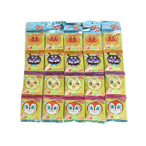 お菓子 詰め合わせ(全国送料無料)不二家アンパンマングミ84g【5個セット】(小袋食べきりサイズ)おかしのマーチ メール便(4902555123585sx5m)