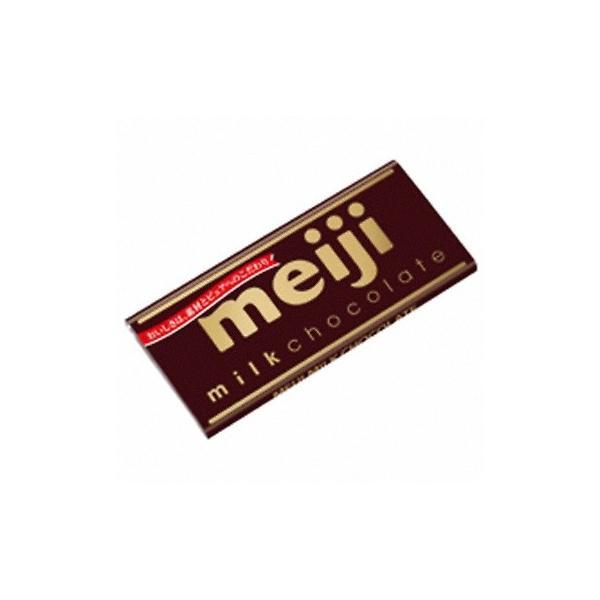 明治 ミルクチョコレート 50g 10コ入り (4902777015927)|okashinomarch