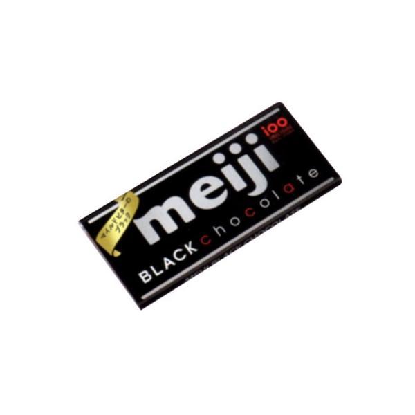 明治 ブラックチョコレート 50g 10コ入り 2016/09/13発売|okashinomarch