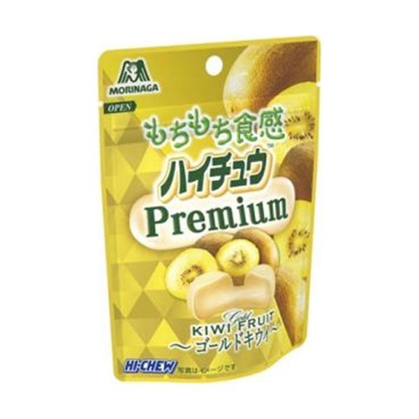 森永製菓 ハイチュウプレミアム<ゴールドキウイ> 35g 10コ入り 2021/08/03発売 (4902888249372)