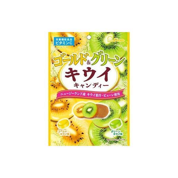 ライオン菓子 ゴールド&グリーンキウイキャンディー 72g 6コ入り 2021/03/08発売 (4903939012891)