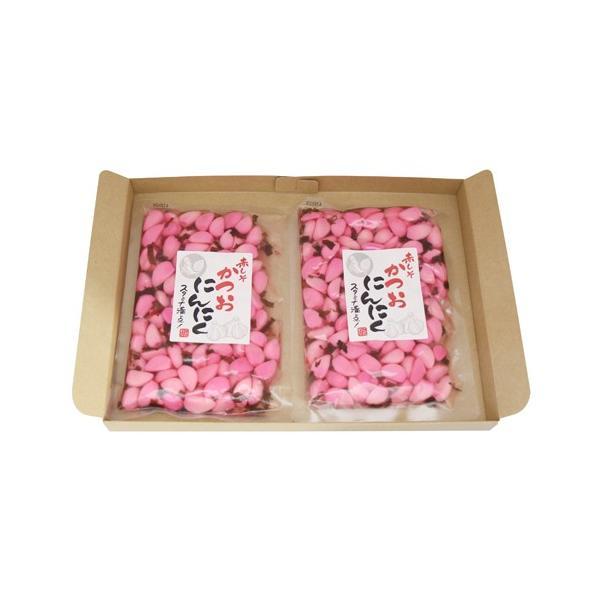 (全国送料無料) 森田製菓 赤しそかつおにんにく 210g 2コ入り メール便|okashinomarch