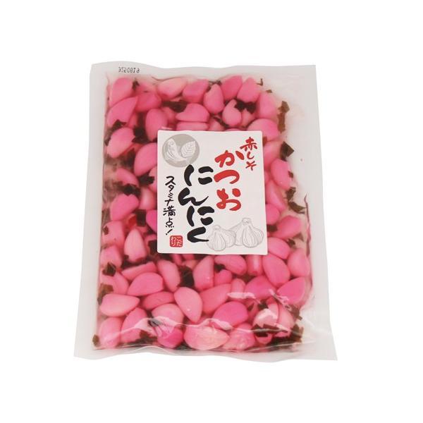 (全国送料無料) 森田製菓 赤しそかつおにんにく 210g 2コ入り メール便|okashinomarch|02