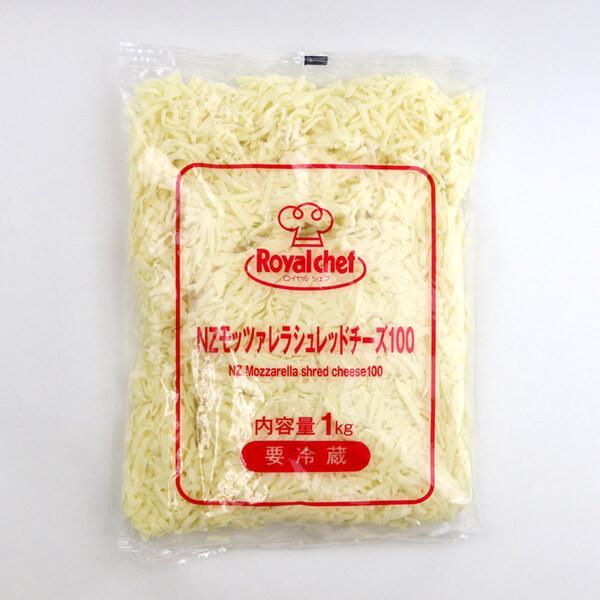 (地域限定送料無料)業務用  (単品) ロイヤルシェフ ニュージーランド産モッツァレラシュレッドチーズ100% 1kg 2袋(計2袋)(冷蔵)(716175000sx2k)