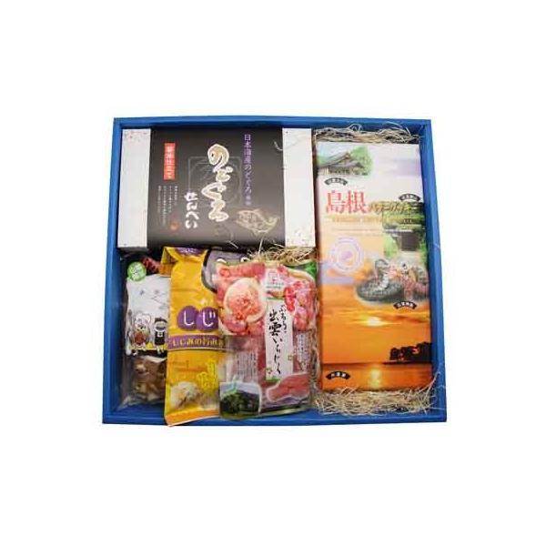 おかしのマーチ 島根土産品 山陰特産物・お菓子詰め合わせ ギフトセット A|okashinomarch