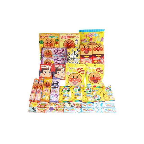 おかしのマーチ 人気キャラクターお菓子詰め合わせセットA(13種・計31コ入り)|okashinomarch|02