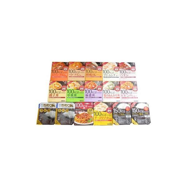 おかしのマーチ 大塚食品 マイサイズ シリーズ 12個 マンナンごはん 2種類・4個 (計16個) セット O|okashinomarch