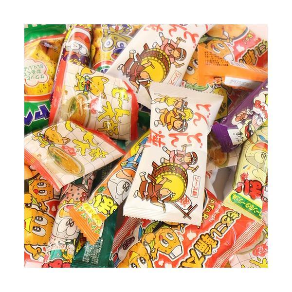 (地域限定送料無料) やおきん・菓道の定番駄菓子 キャベツ太郎・うまい棒が入ったスナック菓子(全195コ) セット おかしのマーチ (omtma6054k)