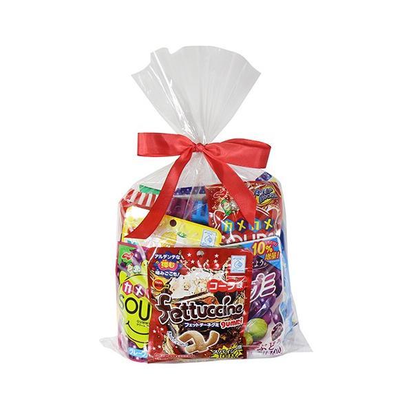 お菓子 詰め合わせ (地域限定送料無料) 12種類のグミ&キャンディ菓子食べ比べラッピングセット(12種・計12コ)おかしのマーチ (omtma6240k)