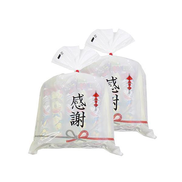 お菓子 詰め合わせ (地域限定送料無料) 【2コセット】感謝袋に入った味おまかせ やおきん うまい棒24本セット (omtma6498k)