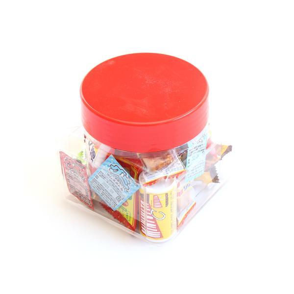 お菓子 詰め合わせ (地域限定送料無料) ちょっとプレゼントに・・・かわいい容器に入った駄菓子セット B【21コ入】おかしのマーチ (omtma7223k)