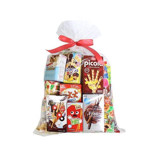 お菓子 詰め合わせ (地域限定送料無料) 大量!たくさんのお菓子セット (21種類入り) ラッピング おかしのマーチ (omtma7303kk)