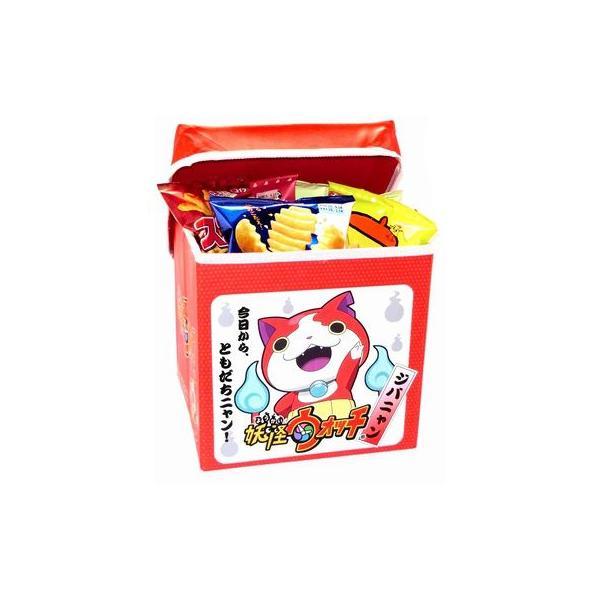 お菓子 詰め合わせ おかしのマーチ 妖怪ウォッチ収納チェア&スナック菓子12種類セット (omtmaywscsa)