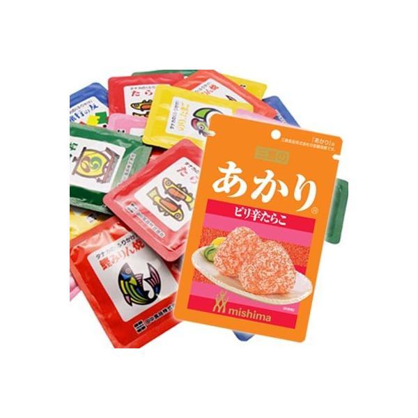 (全国送料無料)三島食品 あかり1袋 & タナカのふりかけ ミニパック(30袋)セット メール便 おかしのマーチ|okashinomarch