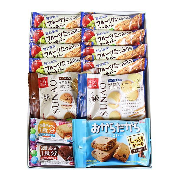 (全国送料無料) おかしのマーチ グリコお菓子ギフトセット D からだにやさしいプチギフト(4種・計16コ) メール便 okashinomarch 02